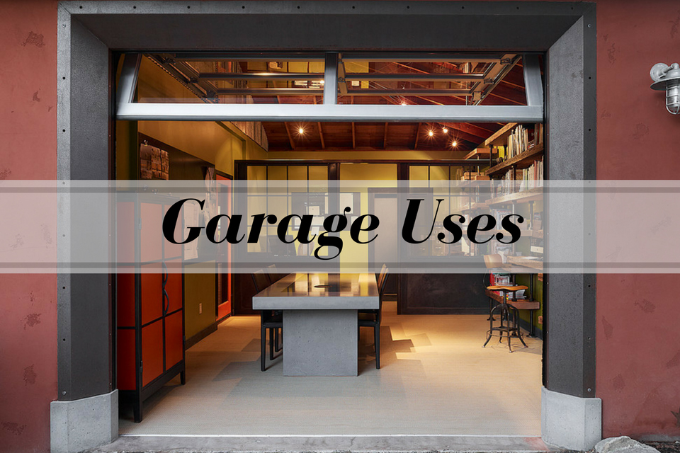 Garage-Uses